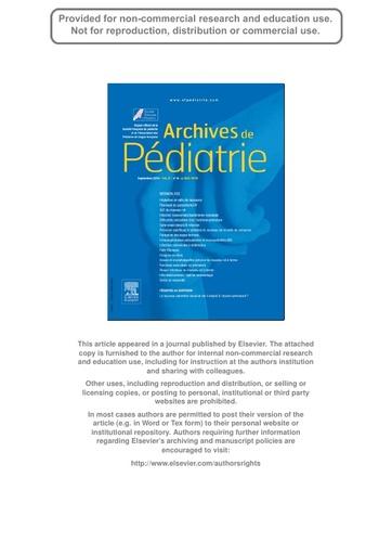 3- Vaccination du prématuré