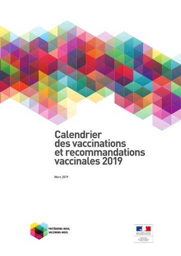 1- Calendrier vaccinal 2019